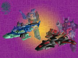 Crossformers - colour by hellbat