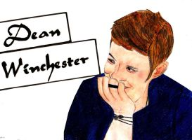Dean Winchester from Supernatural by AmigoGirl14