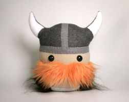 Magnus the Strong Viking Warrior Plushie Friend by Saint-Angel