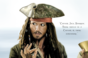 Captain Jack Sparrow by Gabby-chan1994