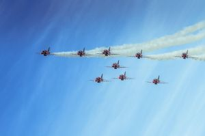 Red Arrows by vipmig