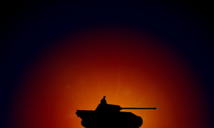 Tank Silhouette by MarksA-C