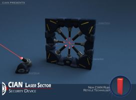 Laser Sector Security Device by CIAN-agent