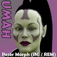 Umah Poser Character by 3D-Fantasy-Art