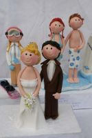 Wedding Couples Figurines by Verusca