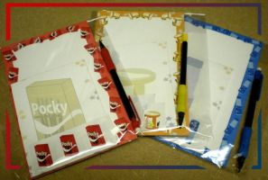 Japanese Snack Stationary by MadMouseMedia