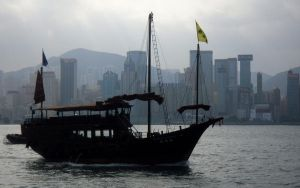 Hong Kong Harbour - WP by lsyw