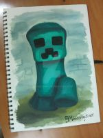 9Minecraft-Fanart-Creeper by 9minecraft