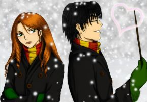 Lily and James color by Zylvana