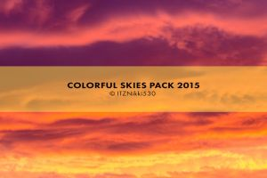 Colorful Skies Pack by itznikki530