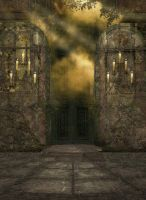 Magical Door Background by mysticmorning