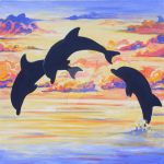 Dolphins by Eve-I