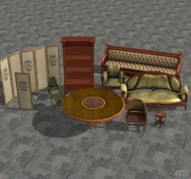 Bioshock Infinite room pack (2) by Mageflower