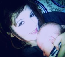 My little Daniel and I by ArielNicole95