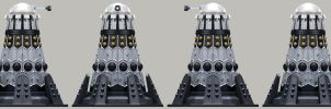 Empire Dalek Emperor by Librarian-bot