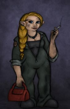 Engineer Bevin by EmiliAlys