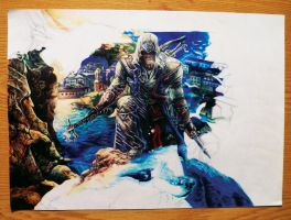 Assasin's Creed III - part 4 (colored pens) by ShizuneRu