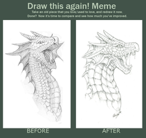Dragonhead redraw by QuicksilverCat