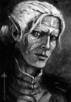 Elves of the Dragon Age - Keeper Marethari by yuhime