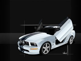 Mustang GT 1600x1200 by donbenni