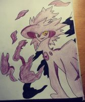 Mismagius Drawing by Krayzieee
