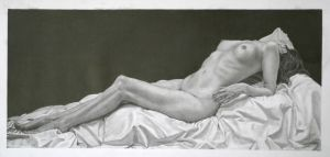 Reclining Nude by RTyson