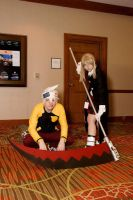 Soul and Maka at A-kon23 by Death-the-Girl88