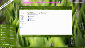 windows 7  grass visual style by swapnil36fg