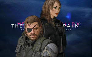 Jane And Venom Snake ! (Request )(Fixed ?) by CyberBrian360