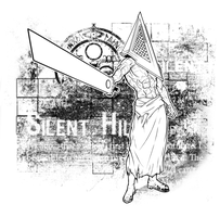 Pyramid Head by Scribbletati