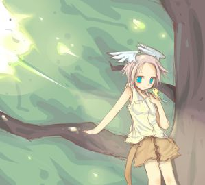 Up in the trees by puinkey - Anime AvatarLar ~