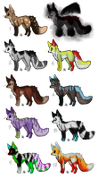 10 Point Fox/Wolf Adopts CLOSED by Pineaapple
