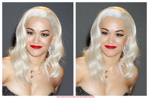 Rita Ora Retouch by theskyinside