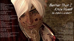 Dragon Age 2: Fenris - Better Than I Know Myself by ParisWriter