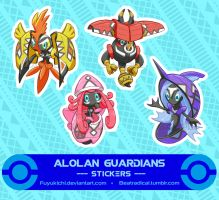 Tribal Guardians +Stickers+
