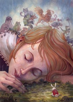 Alice Dreams by Biffno