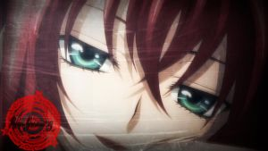 |::Highschool DxD::| Rias Gremory \ Wallpaper by AngelShadow92