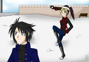 Snow War :contest: by Isa-Love-Anime