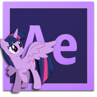 princess twilight after effects CS6 icon by illumnious