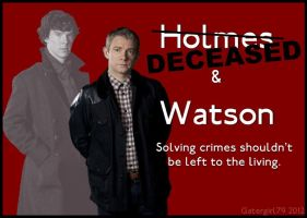 Holmes and Watson: Deceased by Gatergirl79
