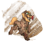 Don't Starve Ponies - Woody by Chickenwhite