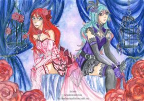 Feathers and Frills by KarLouiie