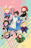 Avengers:Tony in Wonderland by KuroLaurant
