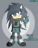 +Riley the Porcupine+ by nayuuta