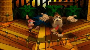 Diddy Kong and Donkey Kong by UKD-DAWG