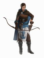Keepers Of The Realm #3: Blue Archer by iamagri