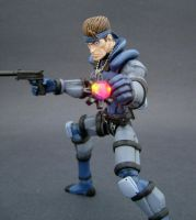 Solid Snake 4 by Jin-Saotome