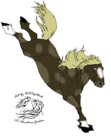mustang for lucky132 by unicornchic