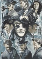 Sherlock Holmes Puzzle card by idirt