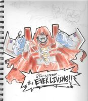 Starscream The EVERLIVING by Epscillion